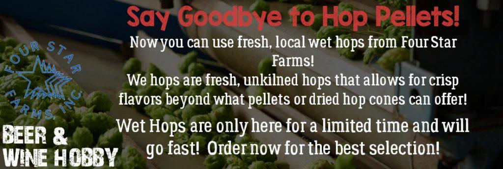 Wet hops